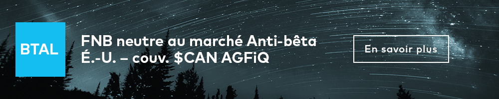 FNB neutre au marché Anti-bêta É.-U. – couv. $CAN AGFiQ